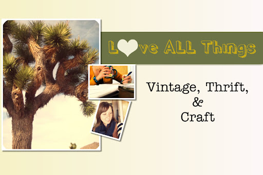 ♥ all things vintage, thrift & craft