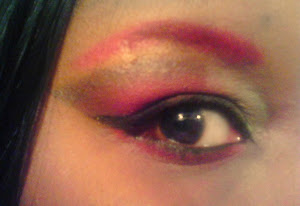 Red Ivy Eyeshadow Look