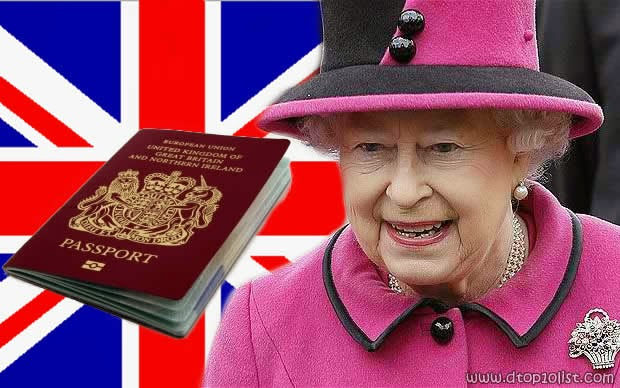 The only person in Britain who is not required to have a passport