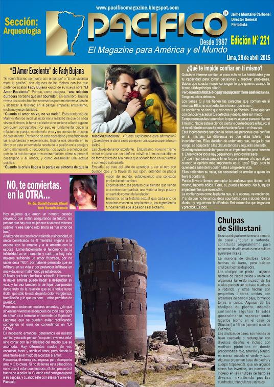 revista Pacífico Nº 221 Arqueología
