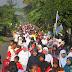 Seribu Warga Minggir, Ramaikan Jalan Sehat PKS