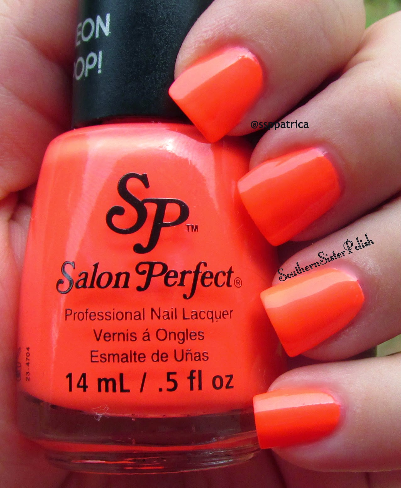 Southern Sister Polish: Neon Pop from Salon Perfect