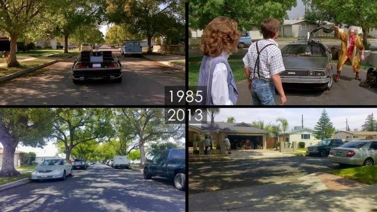 Lugares hoy donde se filmaron escenas famosas del cine.