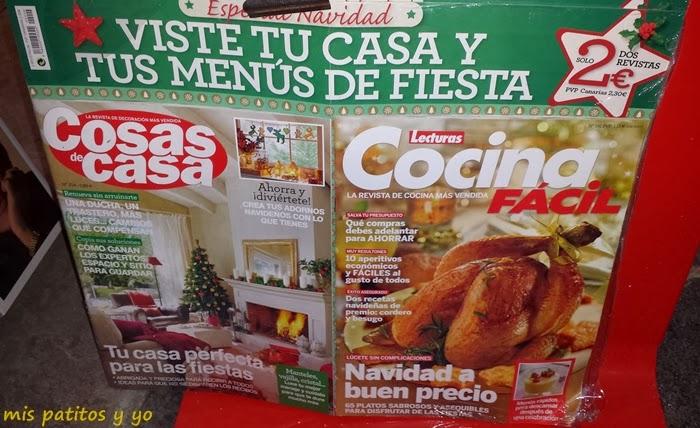 Cotilleando las revistas de enero 2014 mis patitos y yo - Revista cocina facil lecturas ...