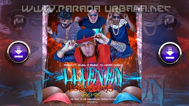 Polaco Ft. Jowell Y Randy & El Mayor Clasico - Llueven Los Bootys (Official Remix)