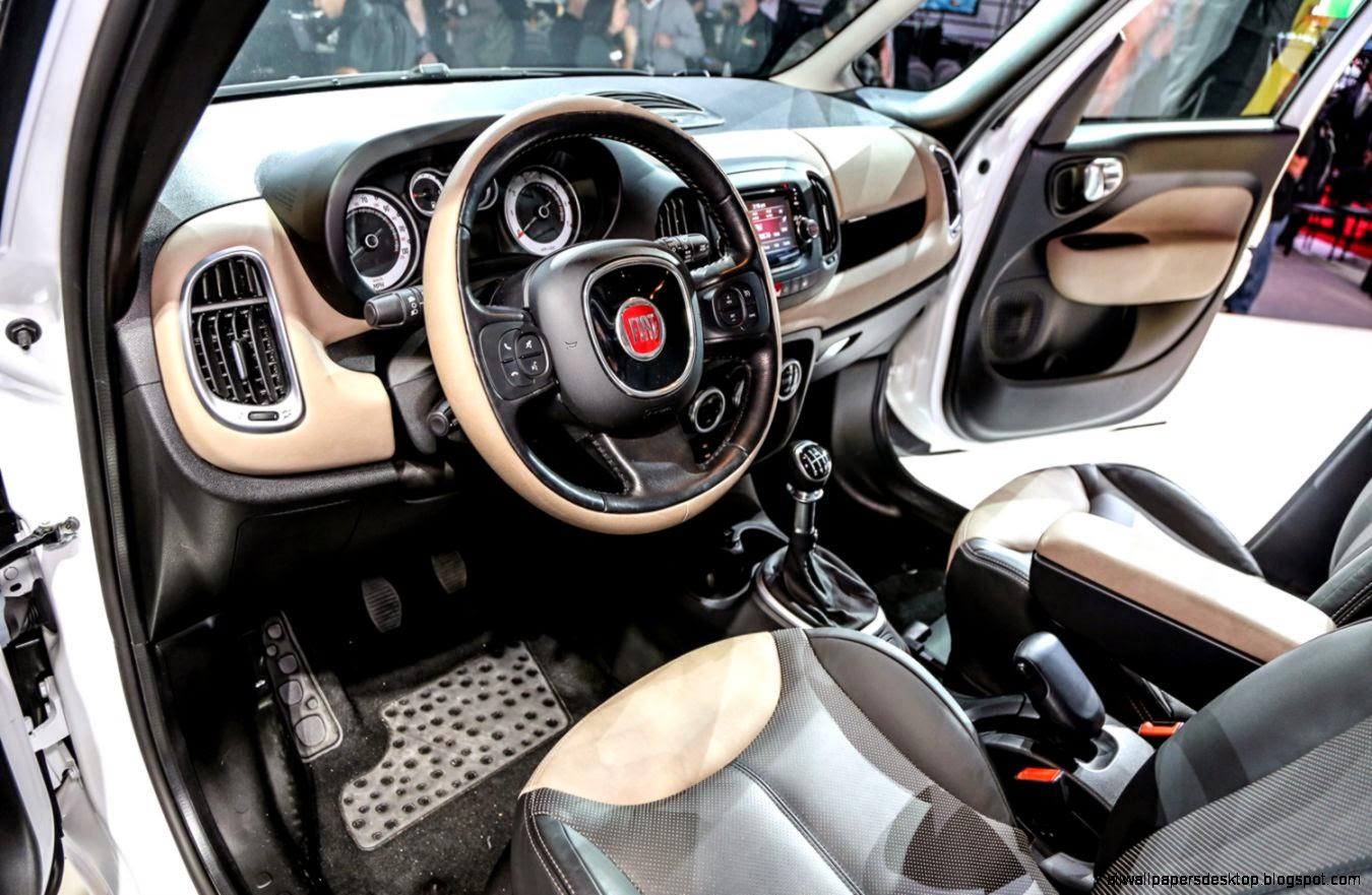 Interior Fiat 500l All Wallpapers Desktop