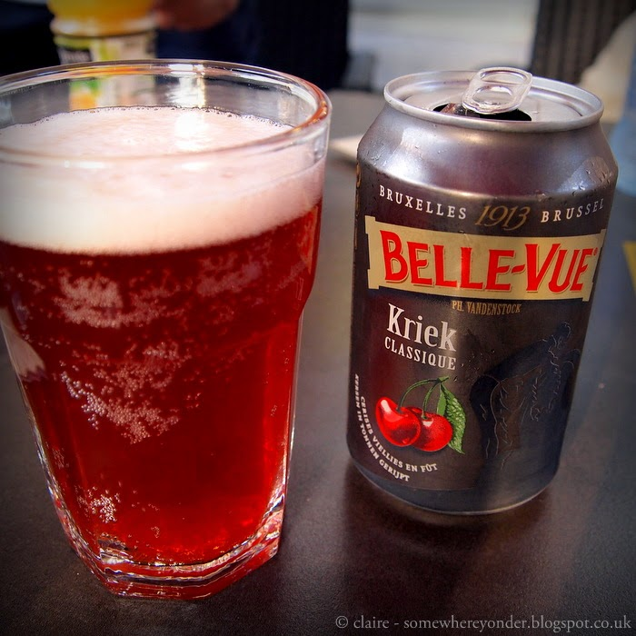 Belgium Kriek cherry Beer