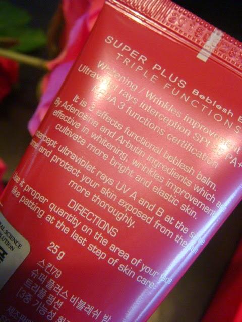 Hot Pink Super Plus Beblesh Balm de Skin79