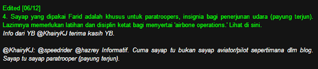 Isu Farid Kamil Pakai Uniform Jadi Perhatian