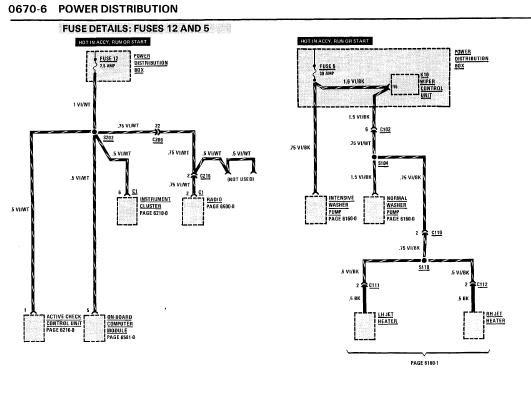 Repair Manuals Bmw 635csi 1986 Electrical Repair