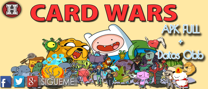 Guerra de Cartas V1.17 (Card Wars) Apk + Datos Obb - Hitman Games