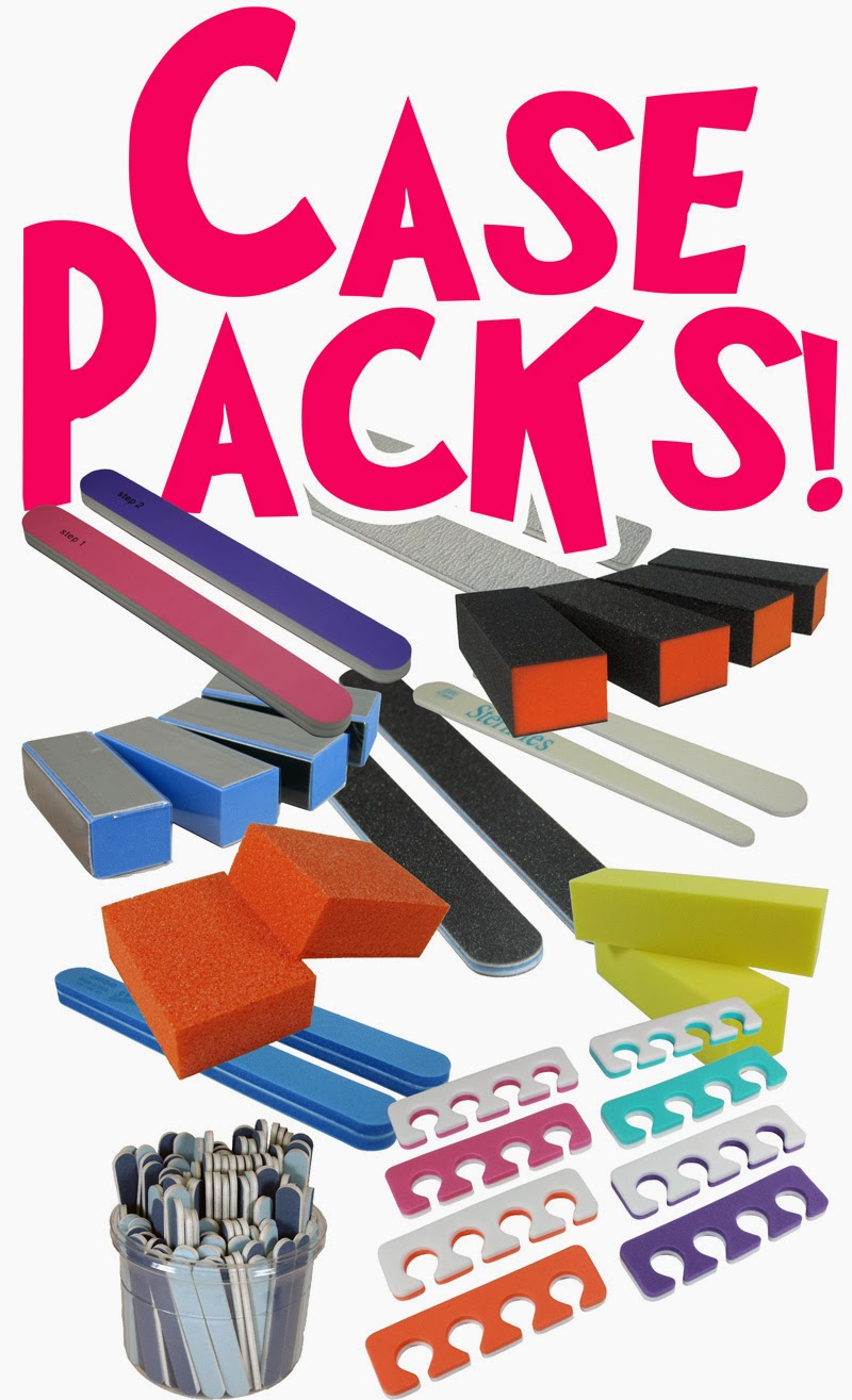 Pure Spa Direct Blog: Nail File Mania - New Mega Case Packs of Nail ...