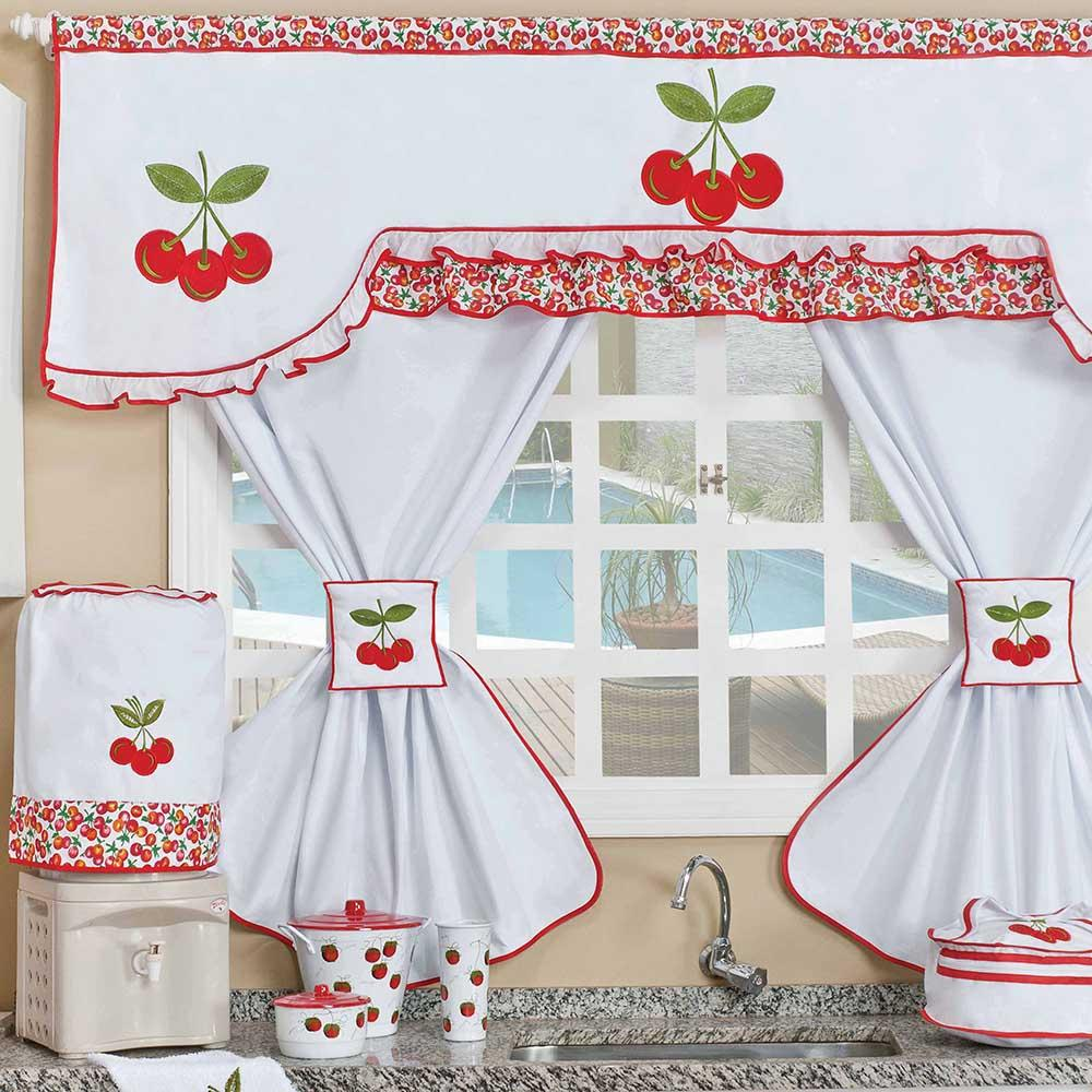 Ba da arteira cortinas para cozinha for Cortinas de cocina fotos