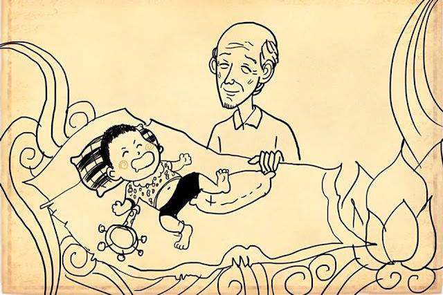 Rơi nước mắt với bộ ảnh 'Ông' của tác giả Thăng Fly