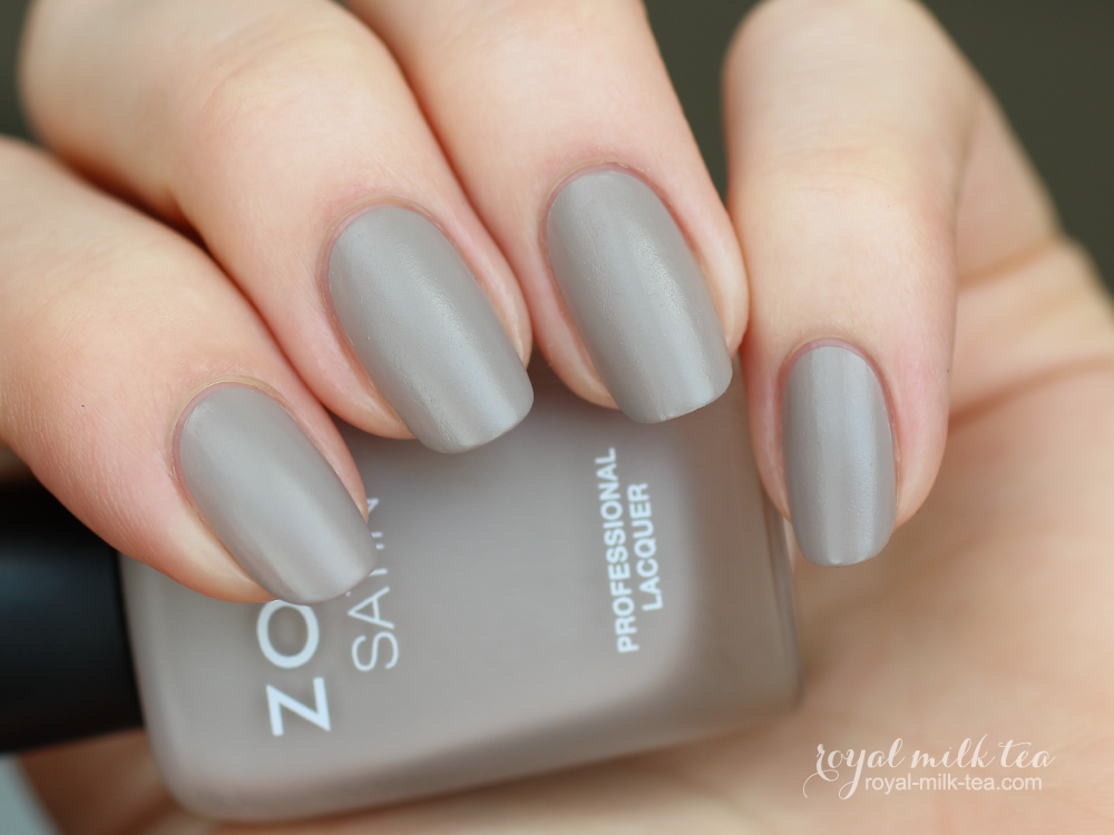 Zoya Rowan Swatches Royal Milk Tea