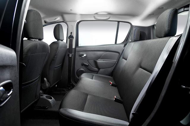 Renault Sandero - espaço interior