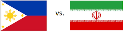 Philippines vs Iran Live Stream September 21 FIBA Asia Cup 2012