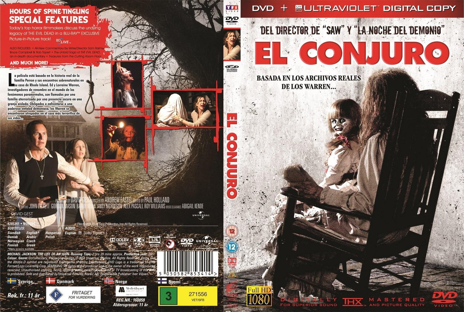 El conjuro - Latino