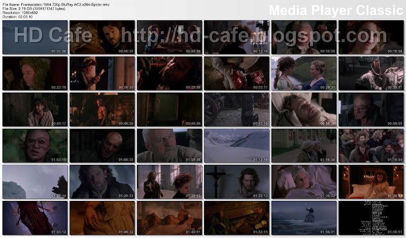 Frankenstein 1994 video thumbnails