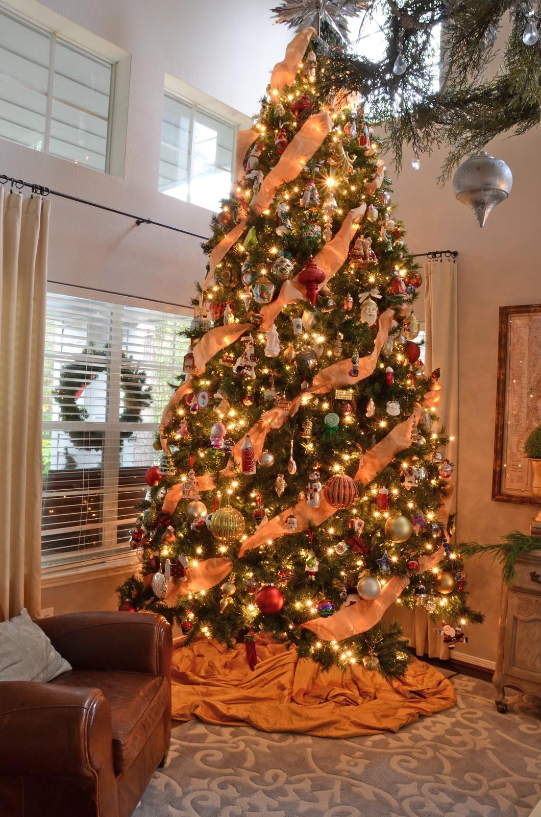 Orange And Lemon Christmas Tree Decorations : Amanda carol interiors