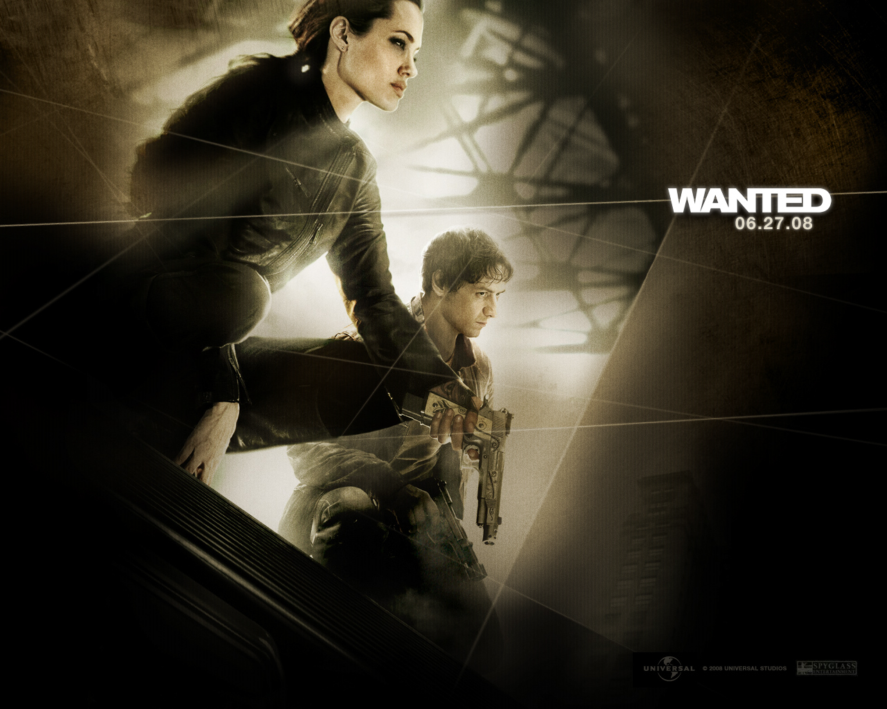 Wanted Angelina Jolie James Mcavoy Wallpaper | Movie Sport ...