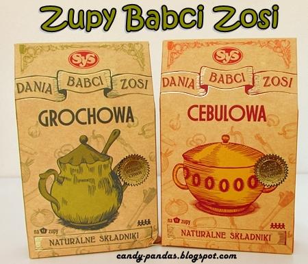 Zupy babci Zosi (grochowa i cebulowa z suszonych warzyw) - SyS