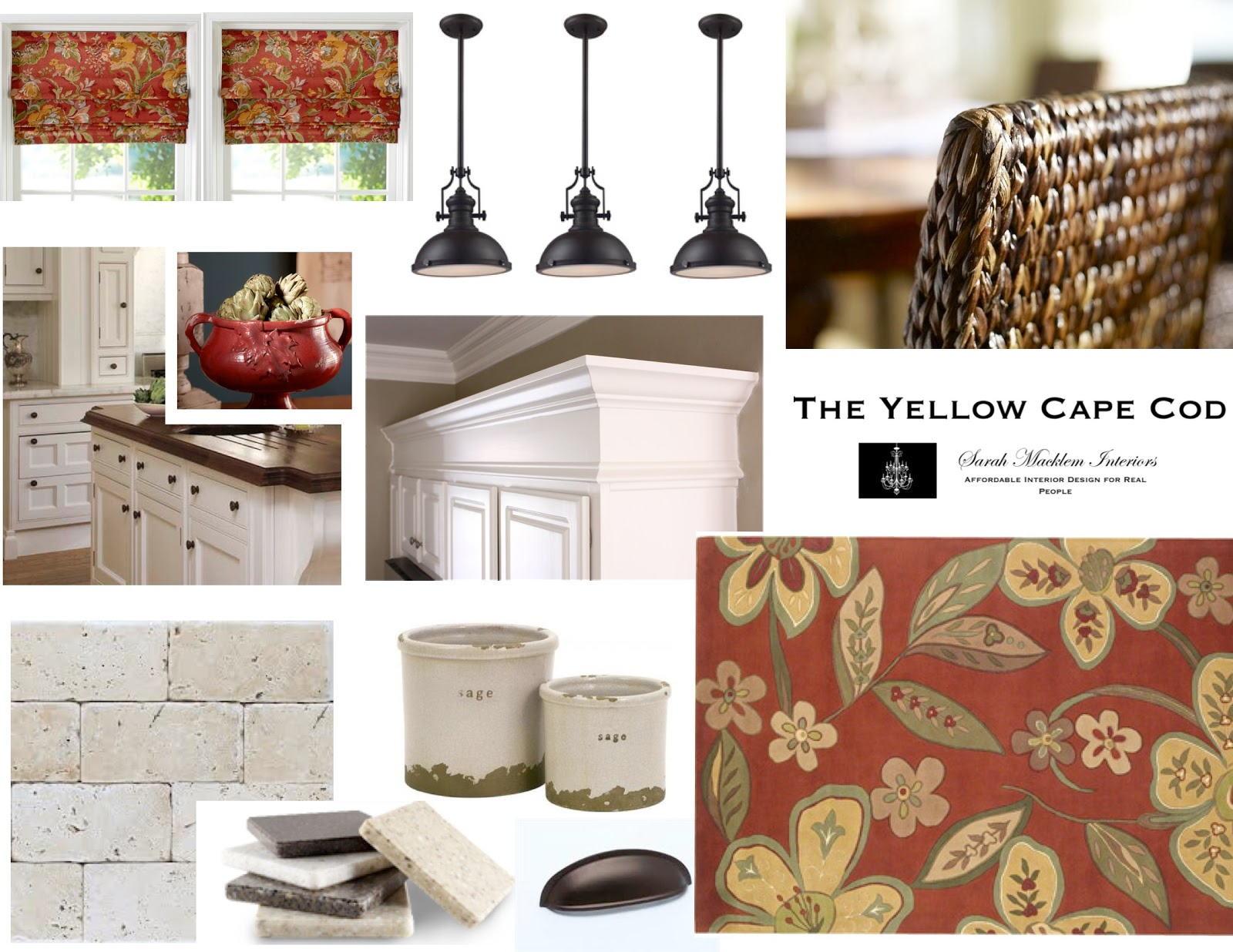 The Yellow Cape Cod: Mixing Materials in The Kitchen