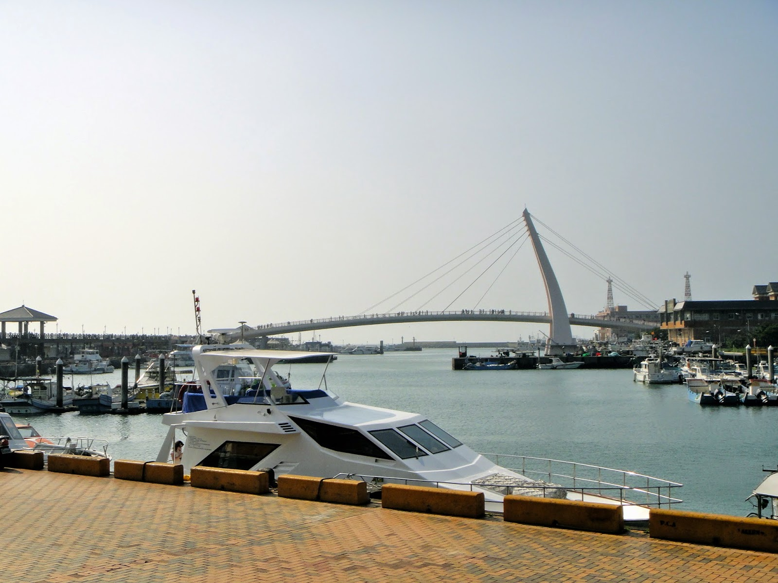 Lover's Bridge View from the Pier Taiwan