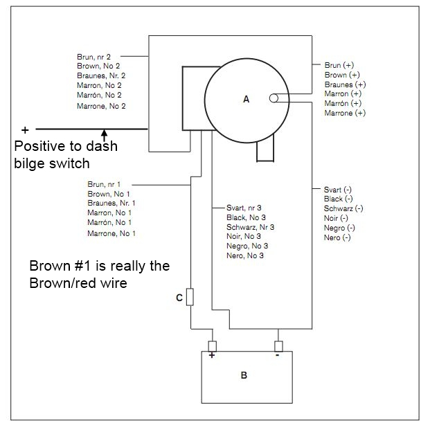 3 wire bilge wiring diagram get free image about wiring diagram