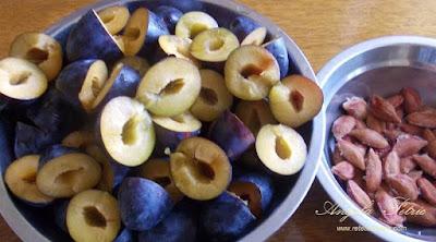 Preparare gem de prune - etapa 2