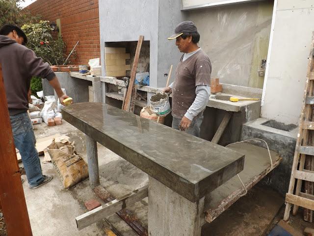 Oniria obra en proceso avance de obra de parrilla en - Parrillas de obra ...