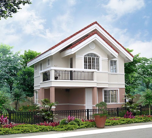 2 Storey Modern House Designs In The Philippines: Calliandra Model House Of Savannah Glades Iloilo By