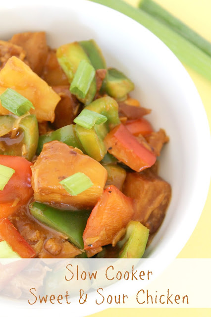 Life With 4 Boys: Slow Cooker Sweet and Sour Chicken #Recipe