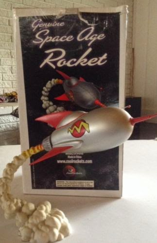"Cool Rockets ""Space Tub"" Model Retro Rocket Model #1009 Rare Htf"