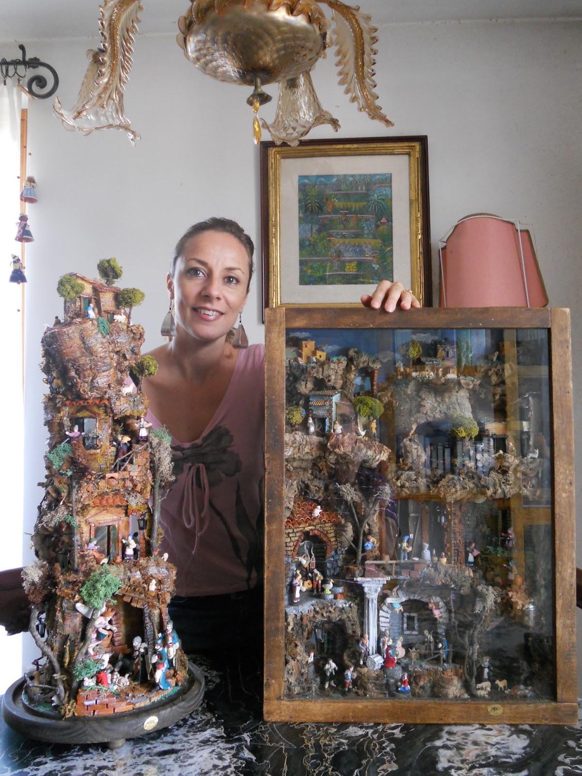 Favorito Shabby Chic & La Maison de la Lavande: I miei Presepi/Nativity Scenes ZR17