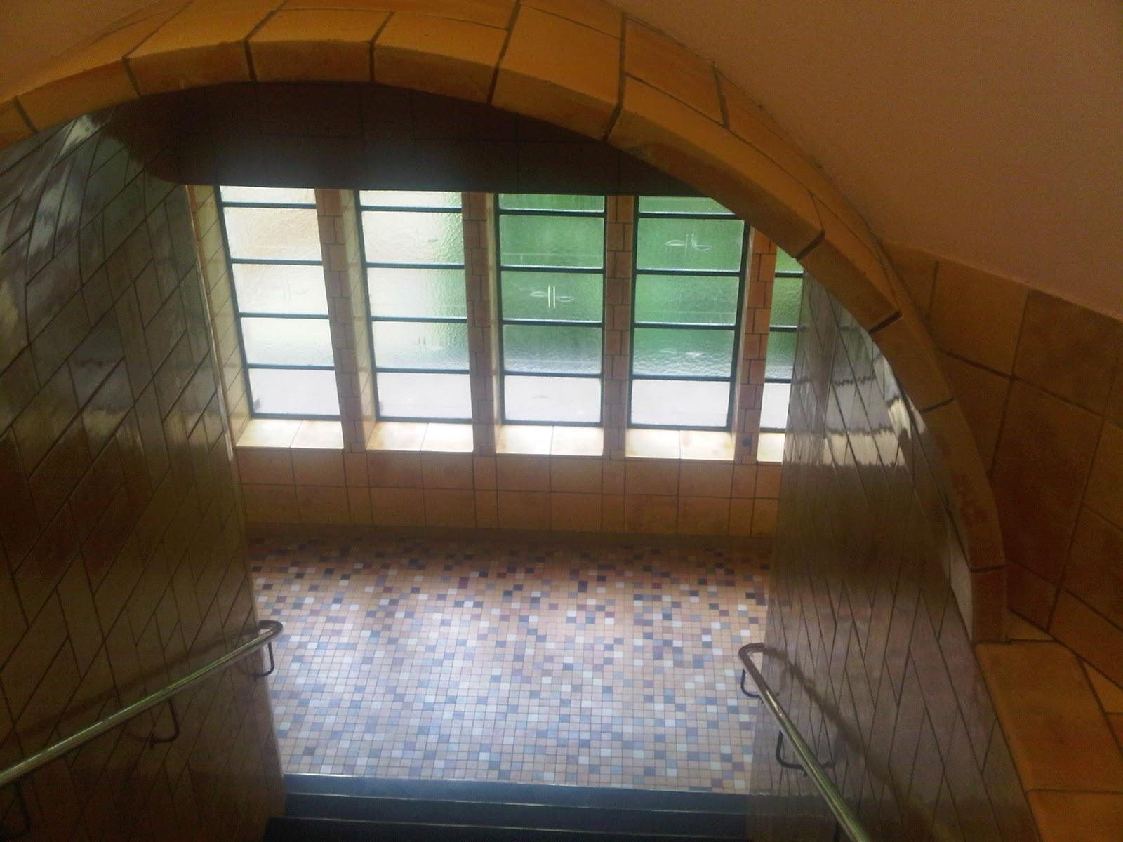 Treppenhaus im Brahms-Kontor