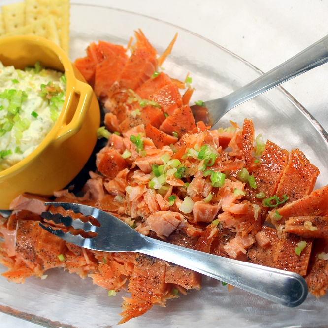 52 ways to cook sugar and salt cured smoked salmon or for Salt cured fish