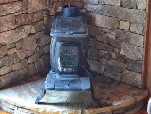 damper control wood stove