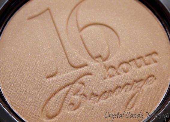 Bronzer longue tenue 16 Hour Endless Summer de Too Faced - Review