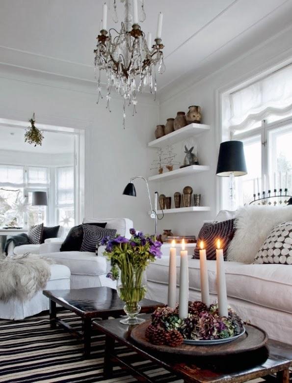 decorar casa para navidad con estilo escandinavo