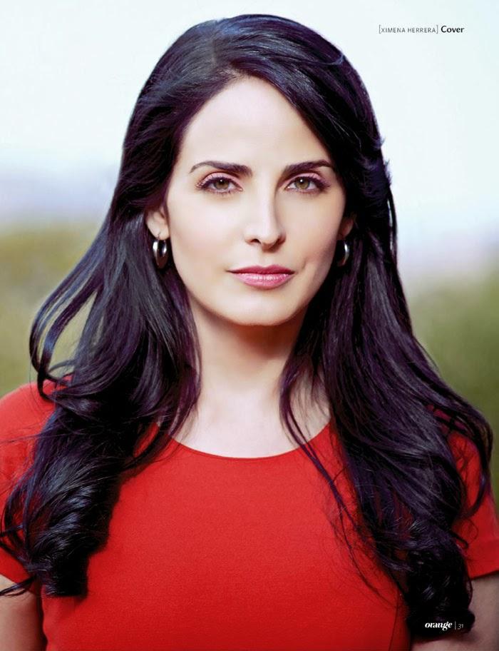 Ximena Herrera for Orange Magazine September 2013 | Latina ...