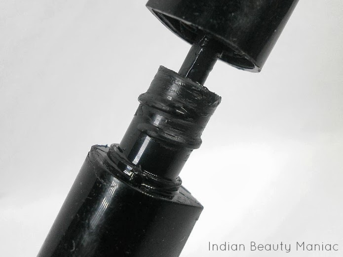 LAKME EYECONIC CURLING MASCARA BOTTLE SWATCH REVIEW