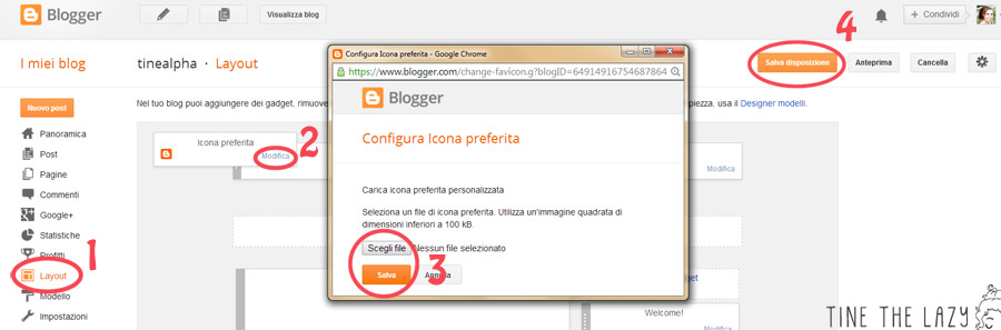 Favicon: che cos'è e come inserirla su Blogger