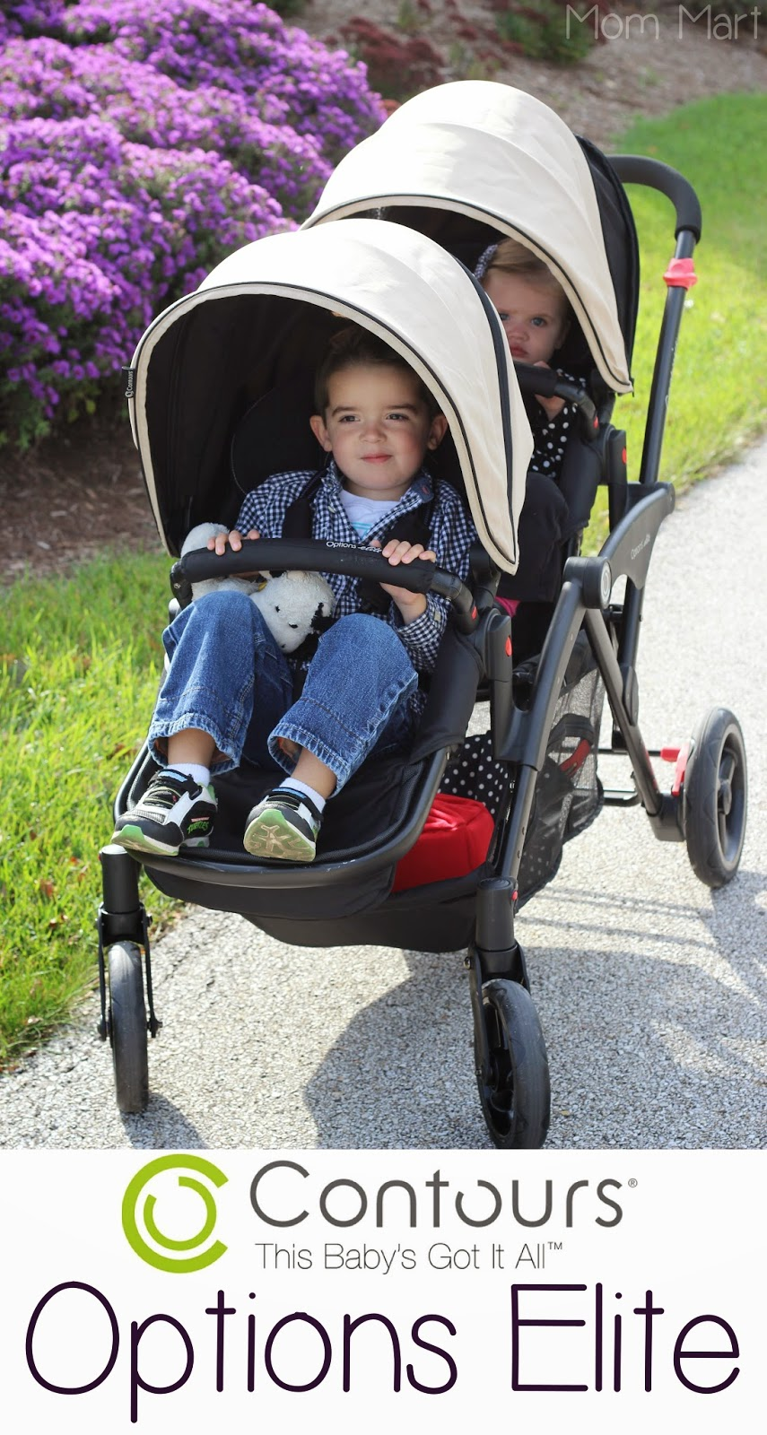 Mom Mart: Contours Options Elite Tandem Double Stroller