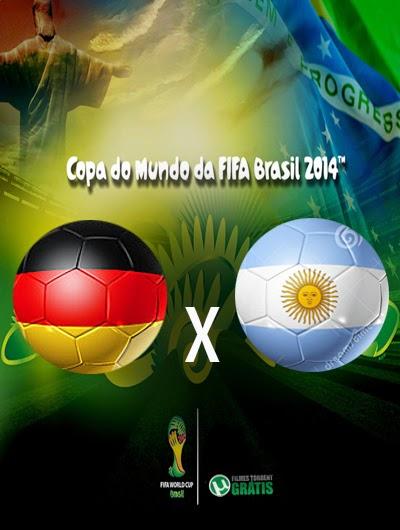 Alemanha x Argentina Final Copa do Mundo 2014