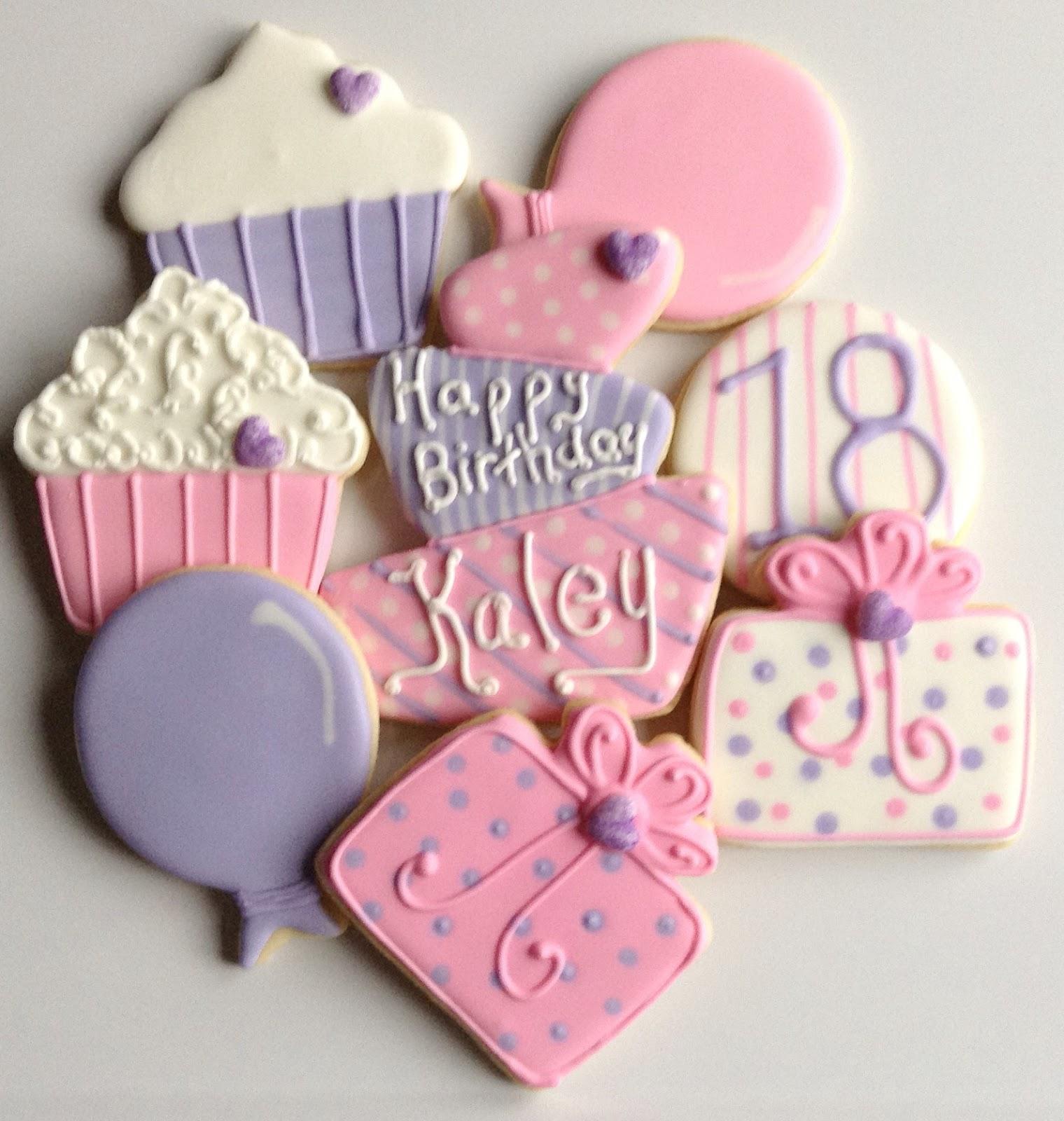 Diane's Cookies: Happy 18th Birthday