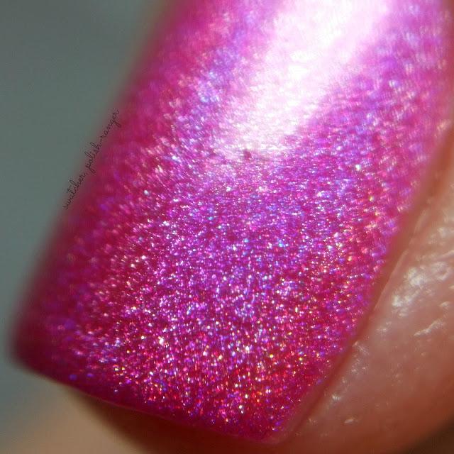 swatcher, polish-ranger | Glisten & Glow Raspberry Margarita macro