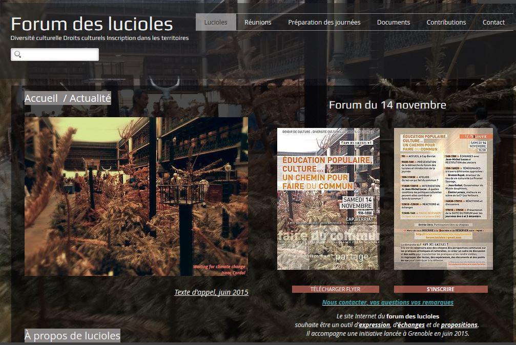 Forum Lucioles