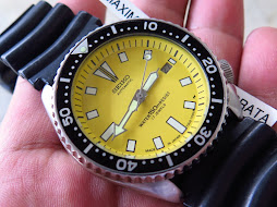 SEIKO DIVER 7002 YELLOW DIAL - AUTOMATIC
