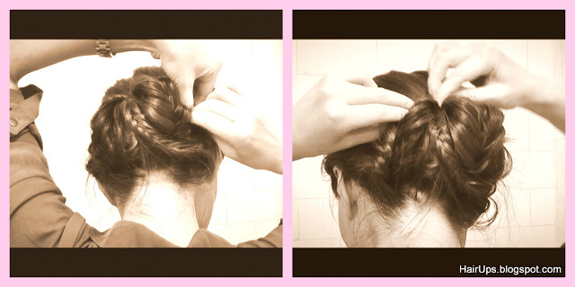 How to Fishtail Braided Ballerina Sock Bun
